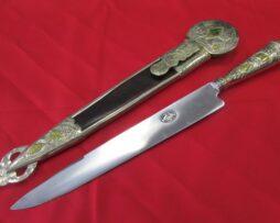 Cuchillo Solingen pieza única